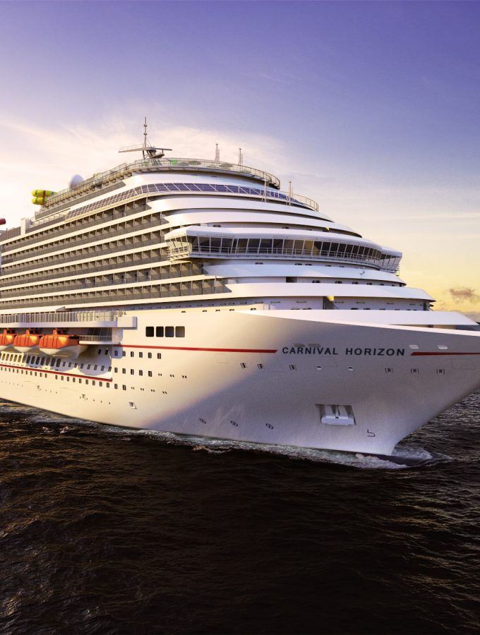 Carnival Horizon will make its debut in April 2018 with Mediterranean Cruises!