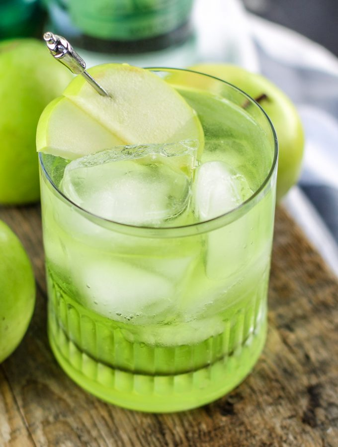 Irish Sour Apple Cocktail Recipe