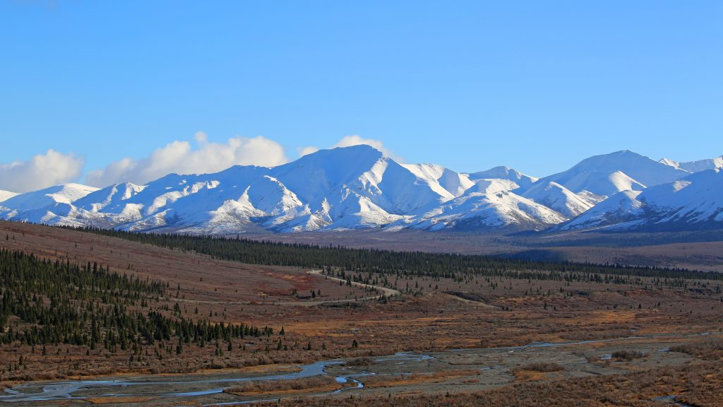 Beautiful Denali National Park and Preserve Alaska