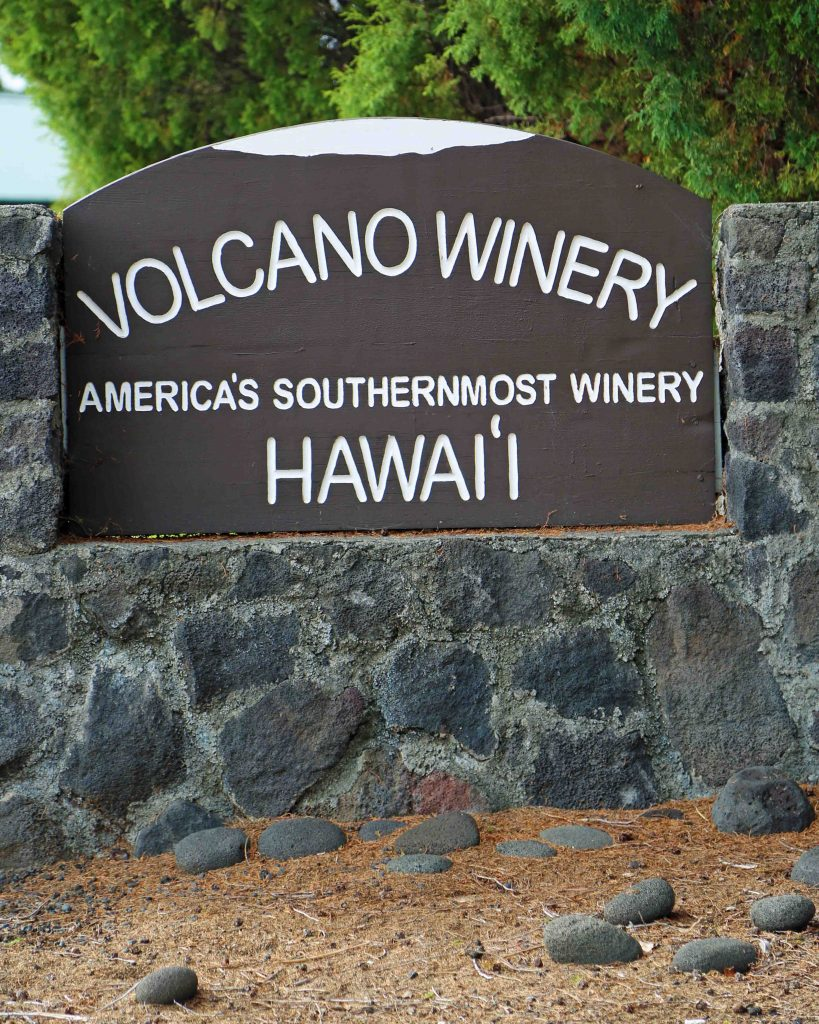 Volcano Winery, Hawaii Volcanoes National Park