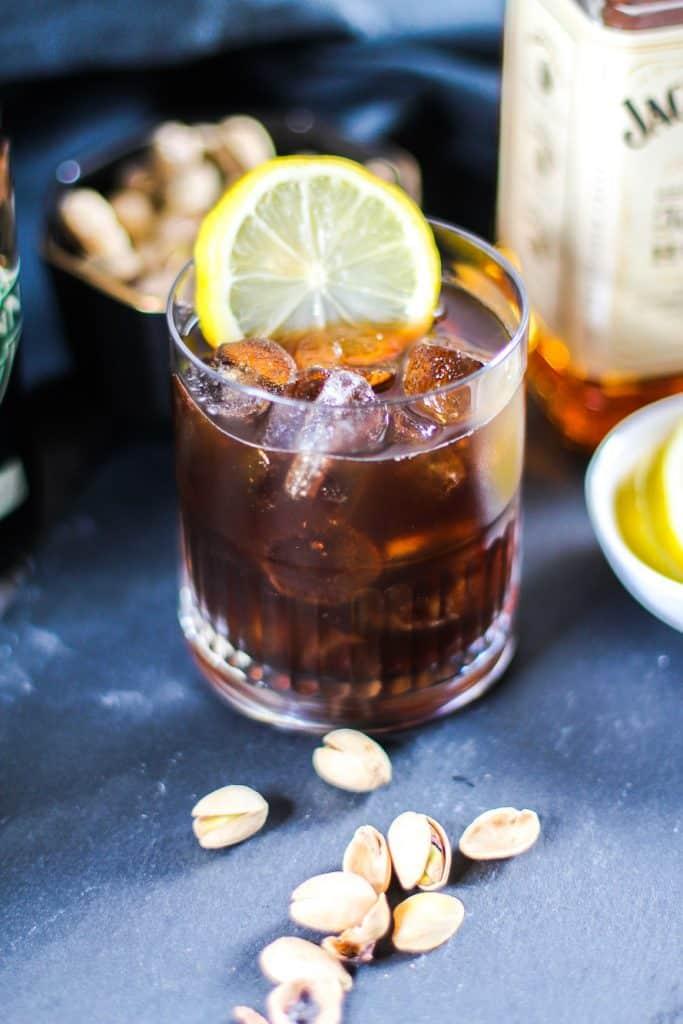 Irish Whiskey Beer Sour Cocktail Recipe - Park Ranger John