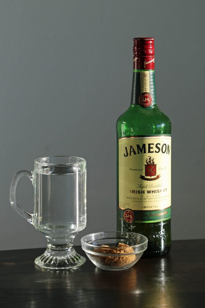 The Perfect Irish Coffee Recipe. Here is a traditional Irish Coffee Cocktail with Jameson we got while visiting Ireland. It is easy to make with how to make recipe and a bit of Irish love. #irishcoffee #recipe #jameson #howtomake