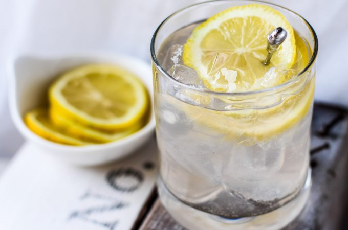 Tequila Lemon Sour Cocktail Recipe