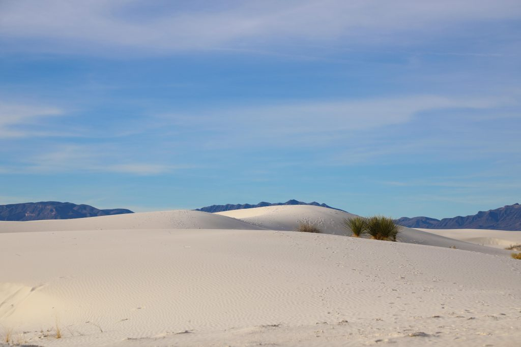 Things To Do White Sands National Monument New Mexico include sand sledding, driving dunes drive, photography and more! #whitesands #nationalmonument #newmexico #photography