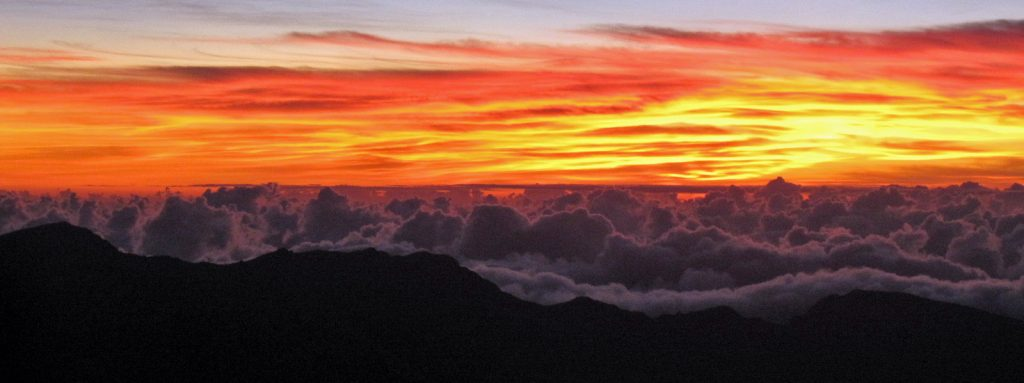 Planning a trip to Maui? Check out our Haleakala National Park Travel Tips for information on reservations, camping, lodging, what to do and more! #haleakala #maui #nationalpark #sunrise