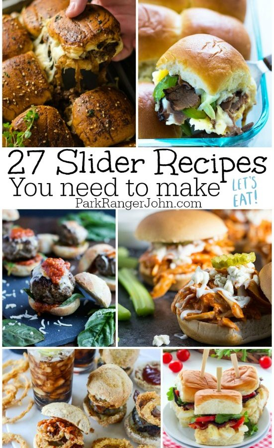 27 tasty sliders Recipes you need to make