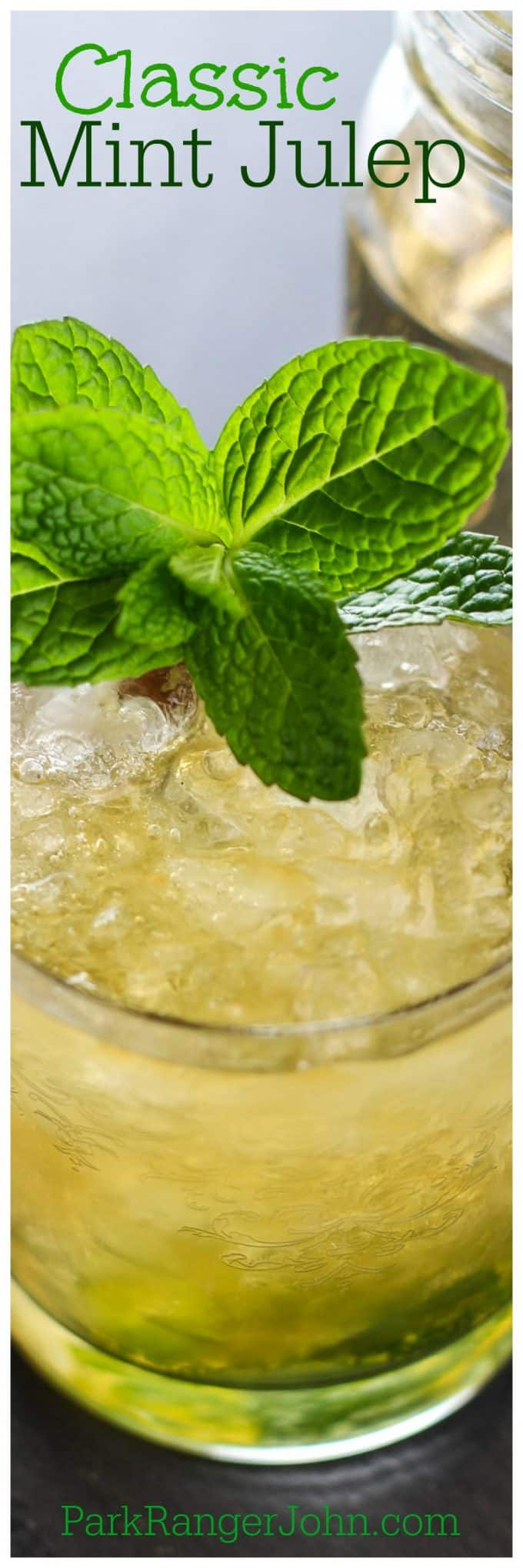 How to make the Best Easy Classic Mint Julep Cocktail Recipe perfect for the Kentucky Derby or any spring/summer day.