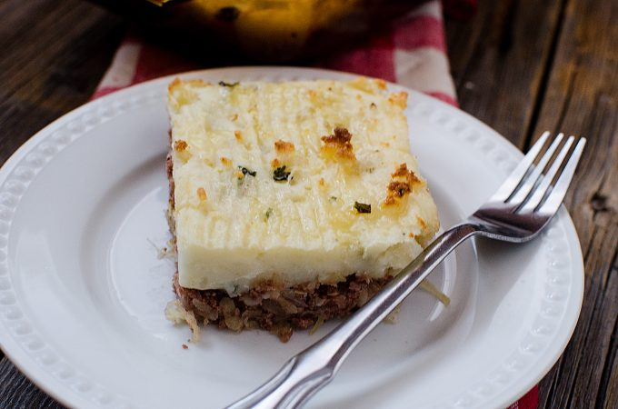 Corned Beef Shepherds Pie Recipe