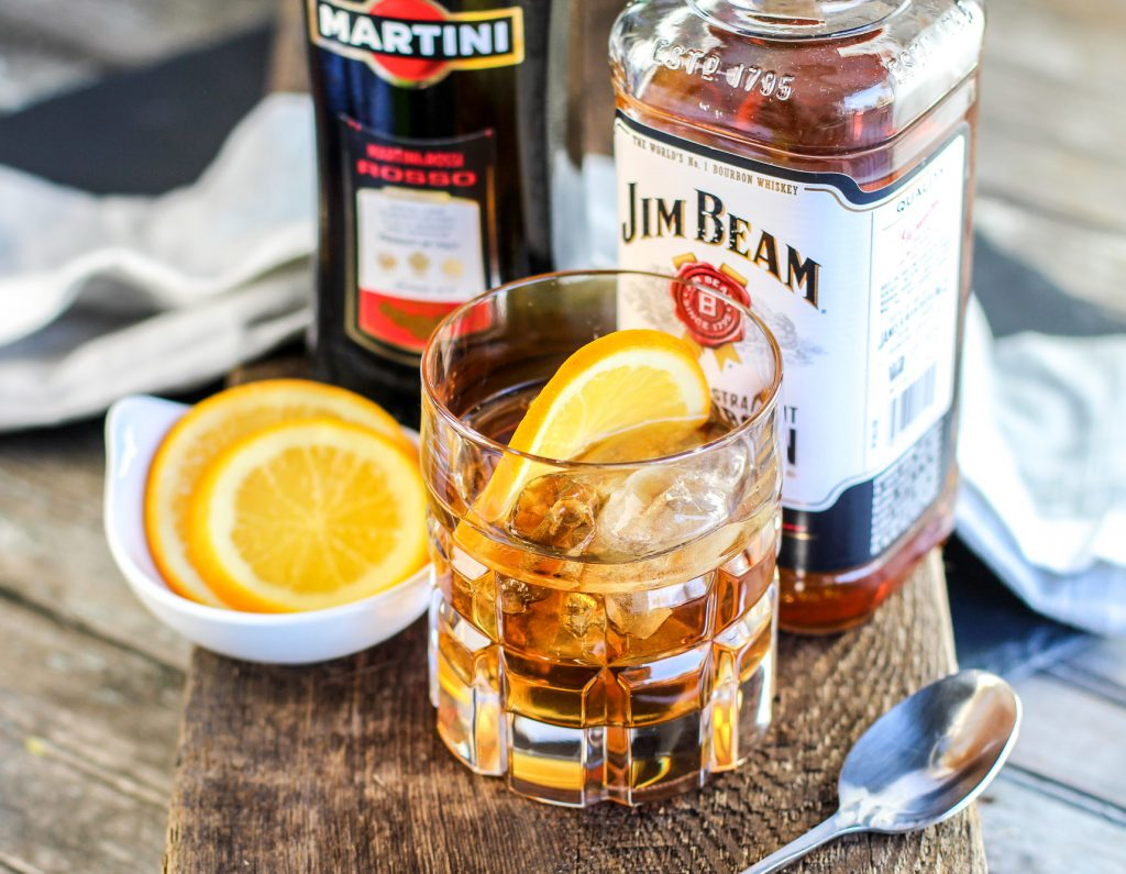 Classic Manhattan Cocktail Recipe With An Orange Twist Park Ranger John