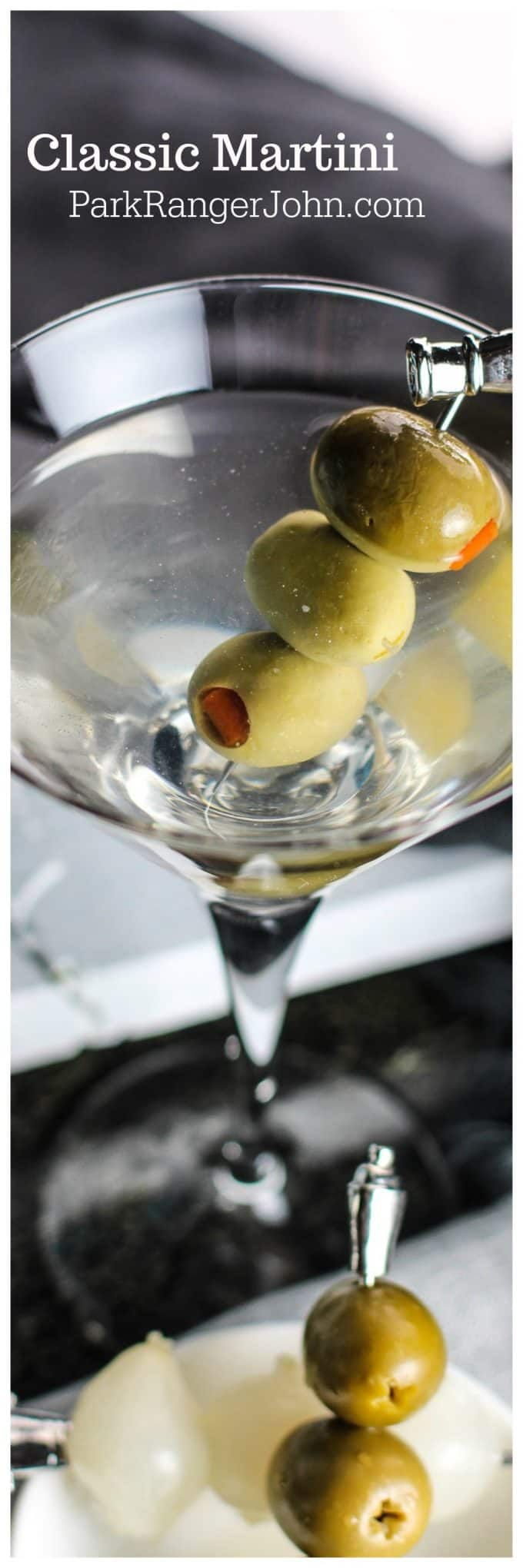 How to make a Classic Martini Recipe with Vodka or Gin. Have your own James Bond moment! This classic cocktail recipe is easy to make and great for parties.