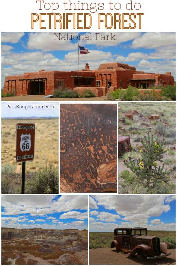 Check out our top things to do in Petrified Forest National Park! This Arizona park is well worth visiting and a great driving park. This is the only US National Park that includes Route 66. Check out the hike, road trips, photography and more!   #petrifiedforest #Nationalpark #nps #travel #roadtrip #arizona #vacation #route66