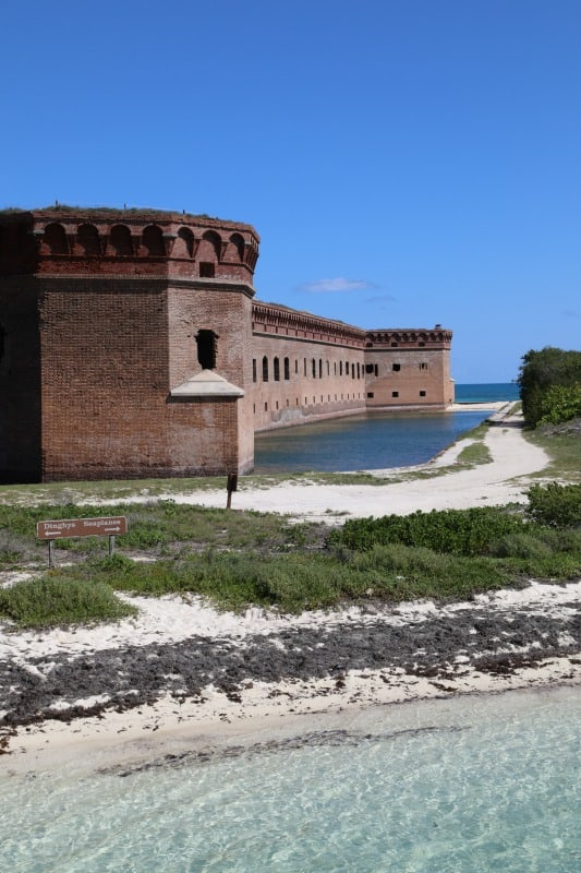 Things to do at Dry Tortugas National Park Florida