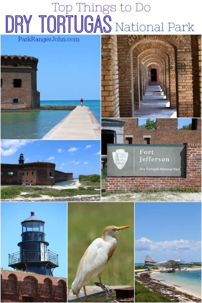 Top things to do and see at Dry Tortugas National Park in Florida! Camping, Snorkeling, bird watching, history, beach day and so much more