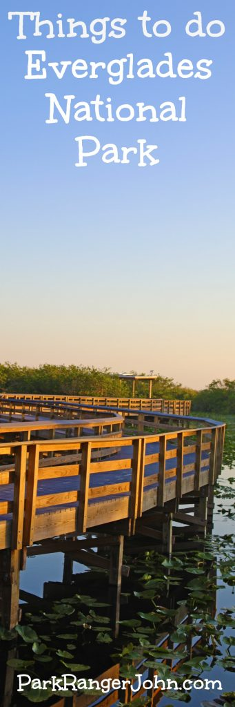Fun activities and things to do Everglades National Park Florida, pictures included. Ideas include Air Boat rides, sunrises and sunsets, hiking trails, boat tours, visiting Shark Valley and Flamingo, seeing alligators, crocodiles and bird watching.