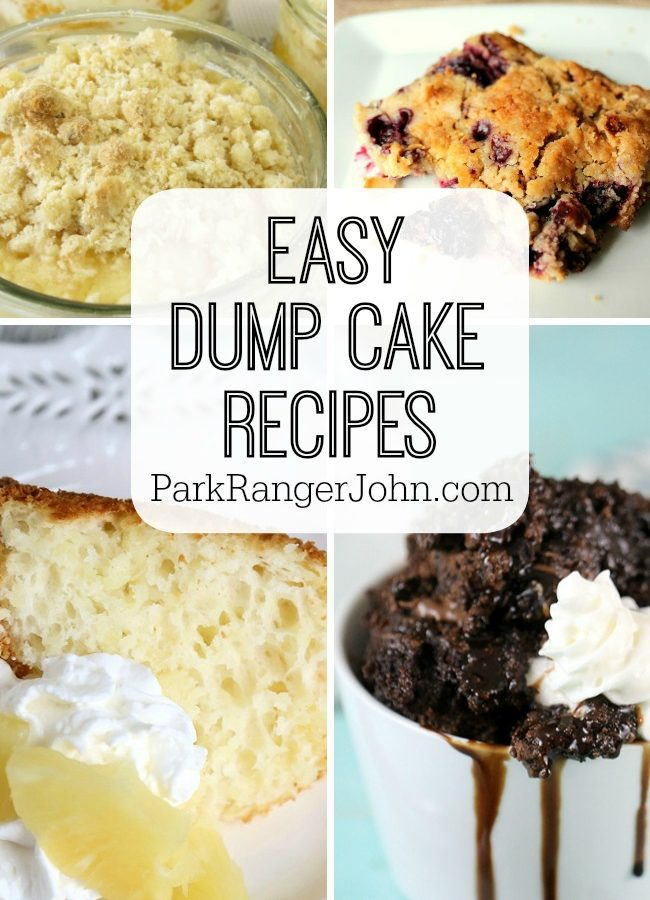 20 Easy Dump Cake Recipes