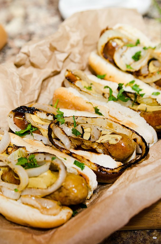 Grilled Italian Sausage & Onions Recipe