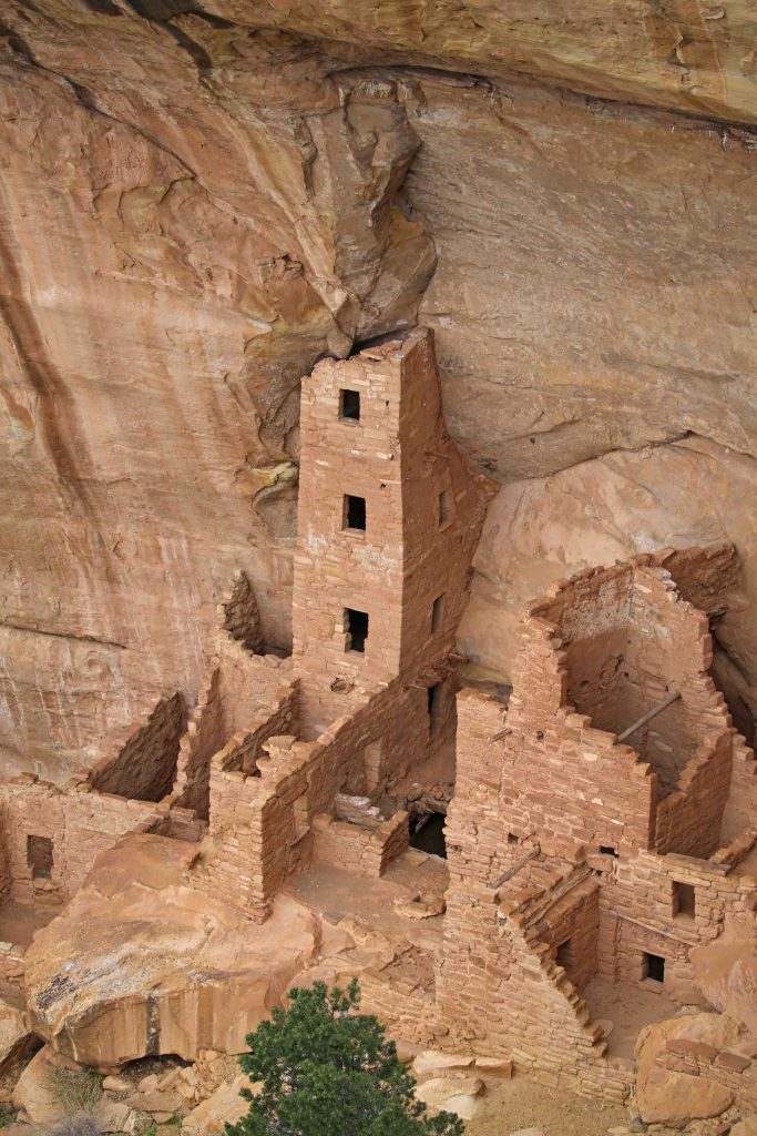 Square Tower House Mesa Verde National Park Colorado