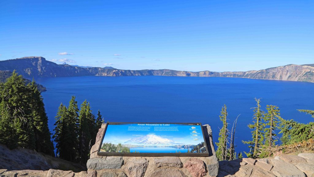 Crater Lake National Park in Oregon is the perfect family vacation. Things to do in the summer include camping, hiking, watching sunrise or sunset, swimming, play in the snow, take a boat ride to Wizard Island and photography. If you plan far enough in advance you can also stay in a park lodge!
