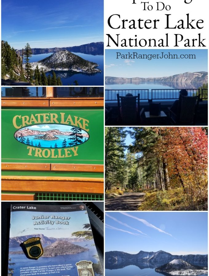 Things to do Crater Lake National Park
