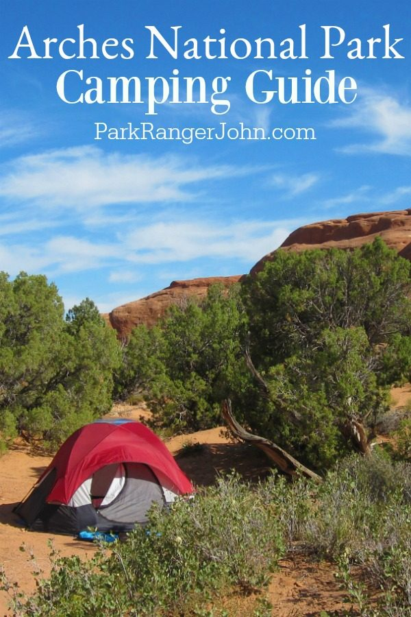 Arches National Park Camping – Devils Garden Campground