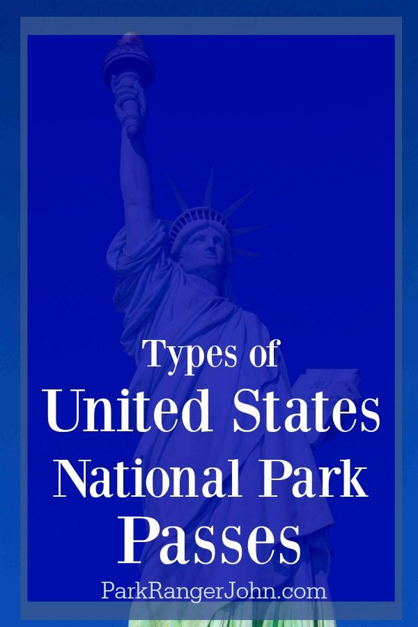 Types of US National Parks Pass