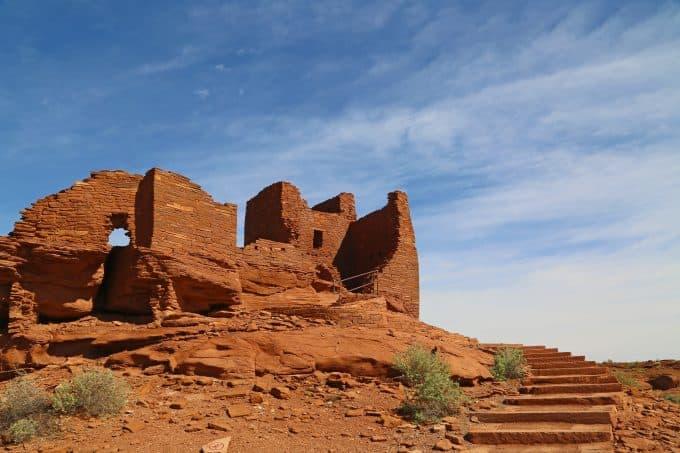 Wukoki Pueblo at Wupatki National Monument