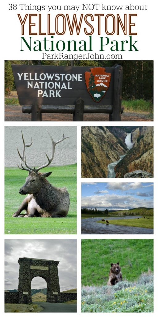 38 things you don't know about Yellowstone National Park! Facts, Figures and more about the 1st US National Park!