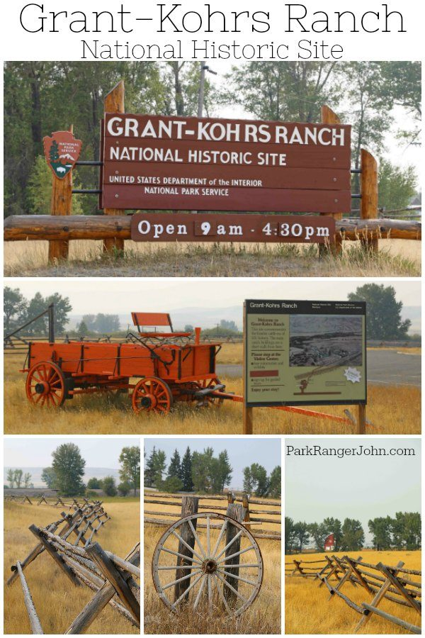Grant-Kohrs Ranch National Historic Site – Montana