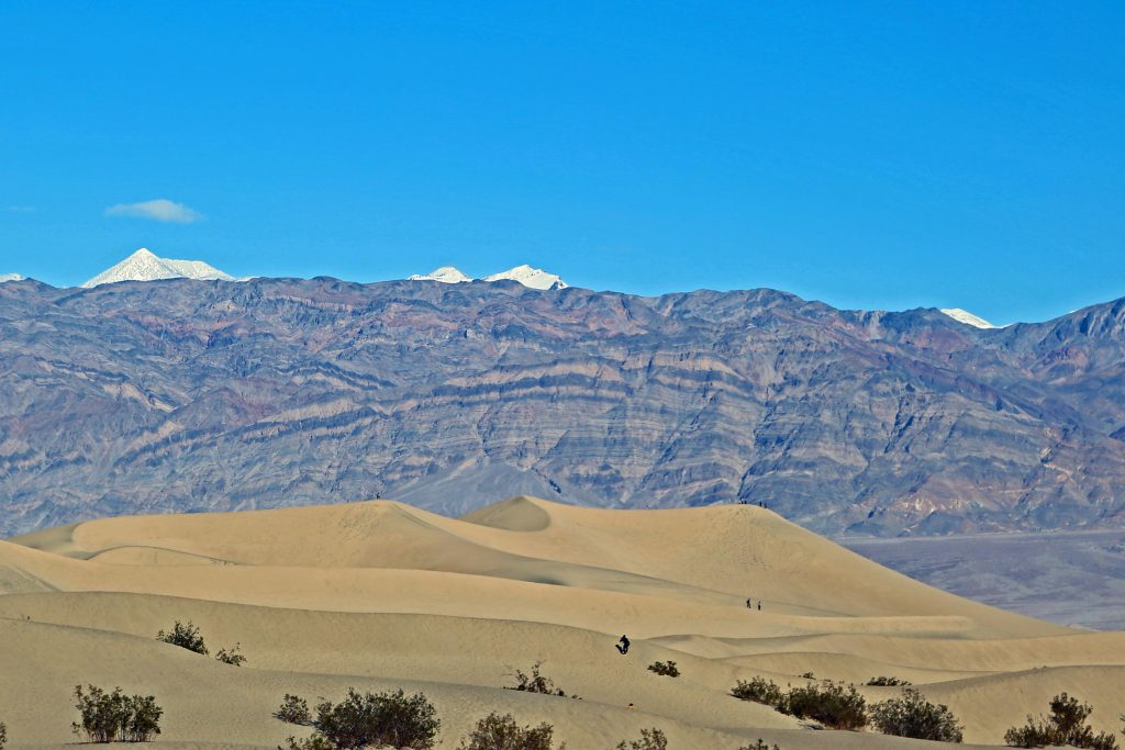 Things to do in Death Valley National Park located in California & Nevada. Activities for this bucket list destination include seeing the night sky & stars, wildflowers, hikes, visiting the Mesquite Sand Dunes, Lodging and more!