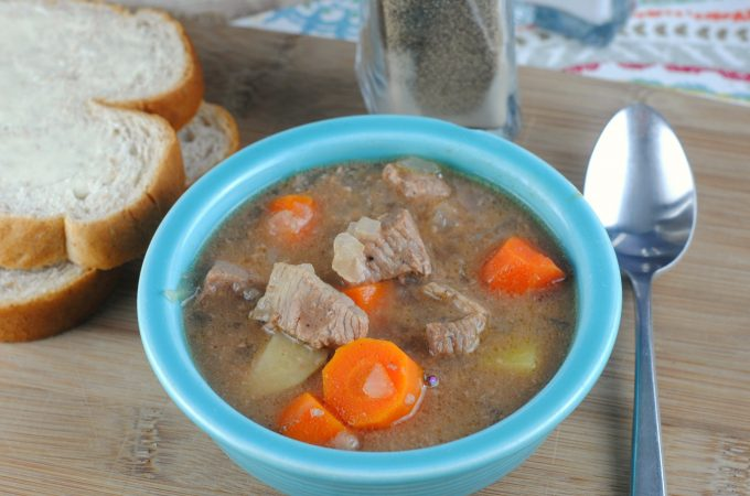 Slow Cooker Crock Pot Beef Stew Recipe