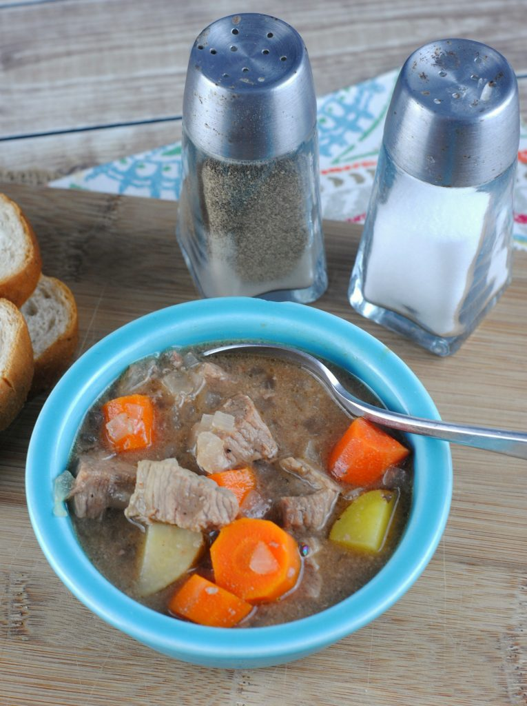 Crock Pot Beef Stew Recipe that is the perfect winter comfort food. So hearty and filling. Great for a family dinner #stew #beef I think this is one of the best slow cooker Crock Pot Beef Stew Recipes out there. Why might you ask? the answer is simple, it is quick and easy to make plus it's is a hearty meal for those cool days that really warms you up after spending the day outside.