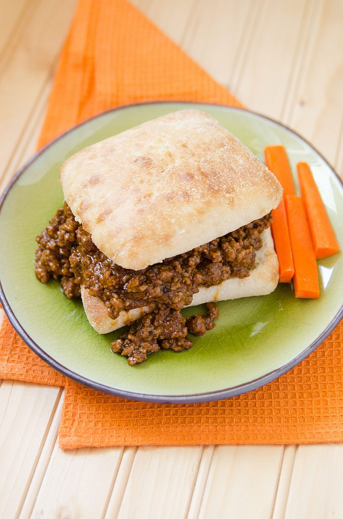 Slow Cooker Crock Pot Spicy Sloppy Joes Recipe! This is hands down the best slow cooker Crock Pot Sloppy Joes Recipe ever! It is an easy to make homemade recipe that will have everyone who loves a little spice in their life coming back for more!
