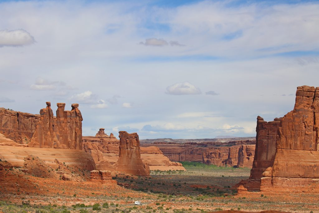 Travel Guide for exploring Cathedral Valley in Capitol Reef National Park in Utah. This guide will help you prepare for one of the National Parks epic road trips #cathedralvalley #capitolreef #nationalpark #utah