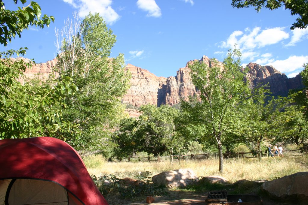 Tips for camping at Zion National Park in Utah including reservations, site descriptions, location, and maps. This will give you everything that you will need to know making your ultimate vacation travel guide to this bucket list destination. You can then check out my posts on hiking and things to do in Zion National Park!