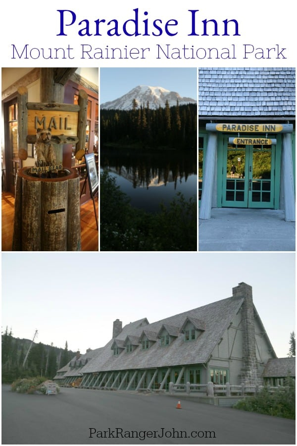 Paradise Inn Mt Rainier