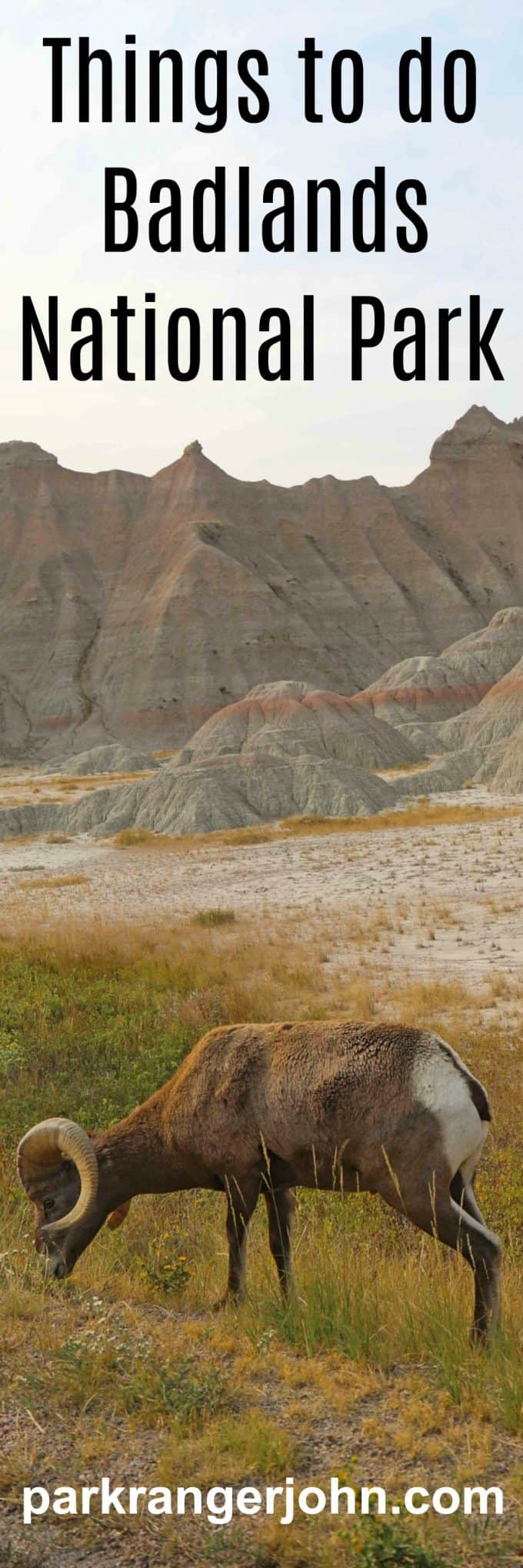 Things to do at Badlands National Park in South Dakota include Road Trips/Auto Touring, Photography, hiking, where to see sunrise and sunset, wildlife viewing plus visit nearby Wall Drug and Minuteman Missile National Historic Site.