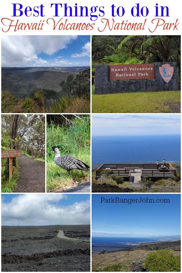 Top things to do in Hawaii Volcanoes National Park