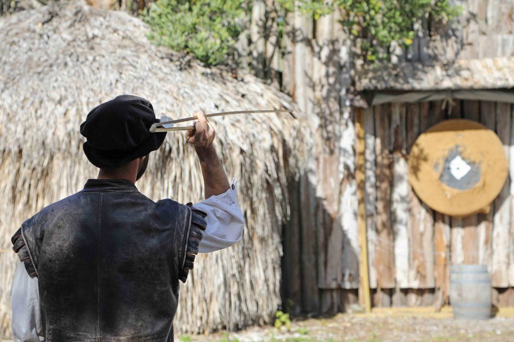 Living History at Camp Uzita