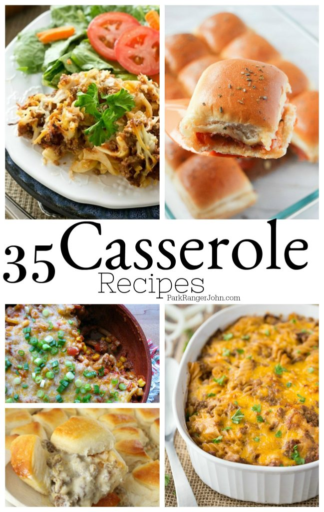 35 Comfort Food Casserole Recipes you will want to try! #casserole #recipe #comfortfood