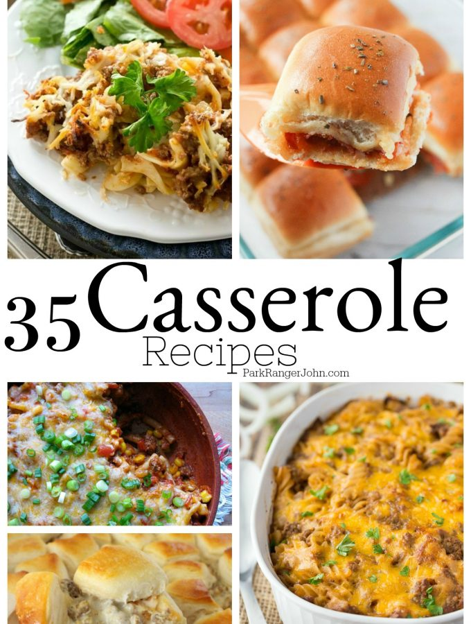 Comfort Food Casserole Recipes