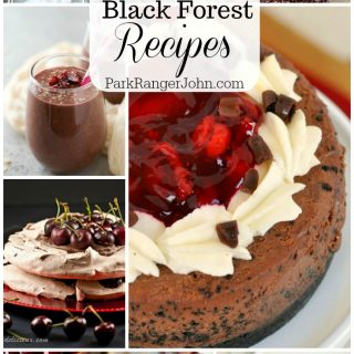 13 Delicious Black Forest Recipes #recipes #dessert #blackforest