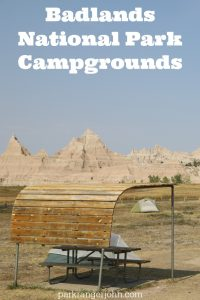 Badlands National Park Campgrounds Camping in South Dakota. Camping is a great way to travel and explore the badlands on the All-American mid-west road trip! #badlands #camping #national park #roadtrip