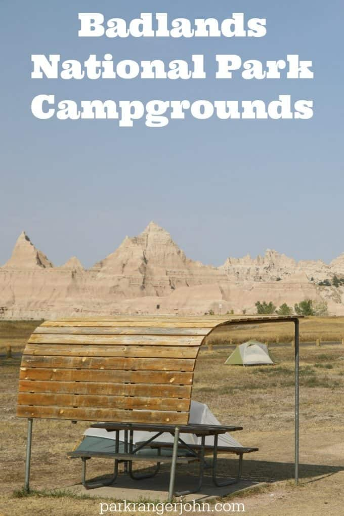 Badlands National Park Camping in South Dakota. Camping is a great way to travel and explore the badlands on the All-American mid-west road trip! #badlands #camping #nationalpark #roadtrip