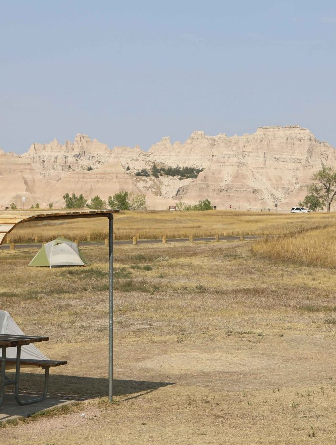 Badlands National Park Campgrounds
