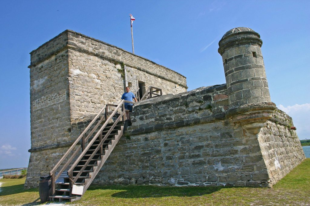 Fort Matanzas National Monument is located just south of St. Augustine, Florida. This travel guide will help you plan a great trip to this National Park site! #fortmatanzas #national #monument #florida