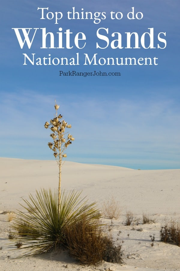 Things to do White Sands National Monument New Mexico