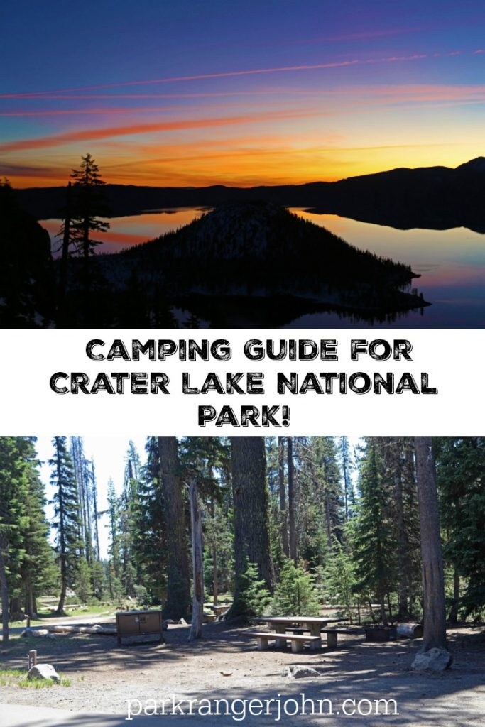 The Crater Lake Camping Guide was written to help you plan the perfect camping and road trip to Crater Lake National Park in Oregon USA! #craterlake #Natioanlpark #oregon #camping