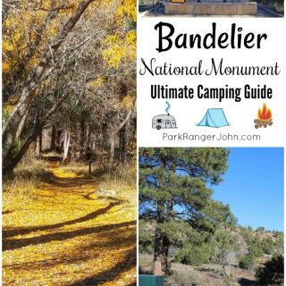 Ultimate guide for planning your camping trip to the Juniper Campground in Bandelier National Monument #Bandelier #camping #newmexico #junipercampground