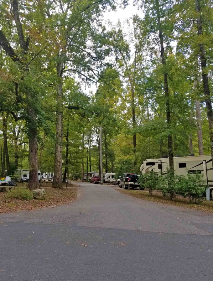 Hot Springs National Park Camping