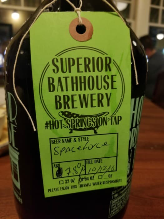 Superior Bathhouse Brewery Hot Springs National Park